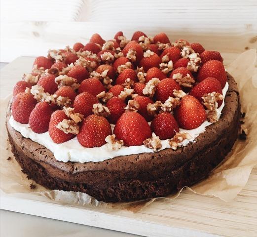 Schokolade. Erdbeer. Crunch