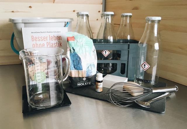 waschmittel. DIY. plastikfreies leben. zutaten.