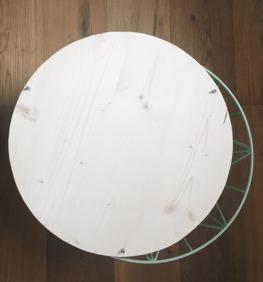 Nachttisch. Basket Wire. Schrauben