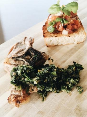 salsa verde mit Lamm